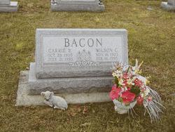 Carrie R. <i>Taylor</i> Bacon