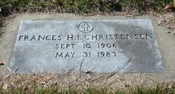 Frances H.I. <i>Garmatz</i> Christensen