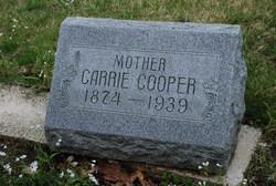 Carrie <i>Deardorff</i> Cooper