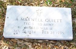 A. Maxwell Quiett