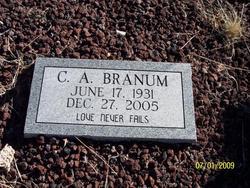 C. A. Branum