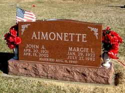 Marjorie L. <i>Thomas</i> Aimonette