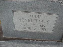 Henrietta C Addie Lawrence