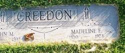 Madeline F Creedon