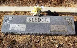Minnie Ophelia Offie <i>Ashby</i> Sledge