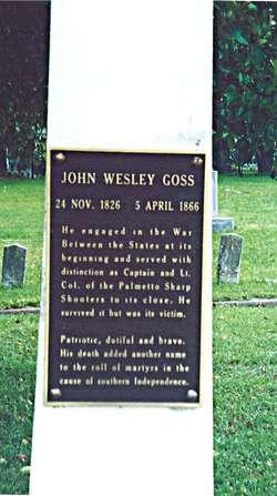 LTC John Wesley Goss