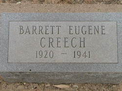 Barrett Eugene Creech