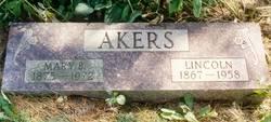 Mary Berella <i>Harris</i> Akers