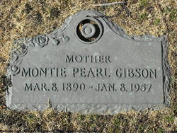 Montie Pearl <i>Carter</i> Gibson