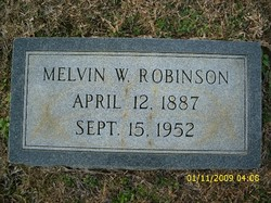 Melvin Washington Coon Robinson, Jr