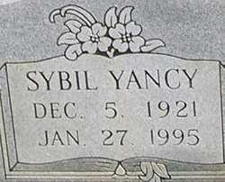 Sybil <i>Yancy</i> Brewer