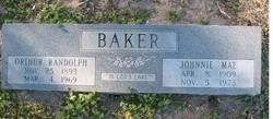 Johnnie Mae Baker