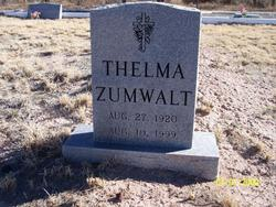 Cora Thelma <i>Agee</i> Zumwalt
