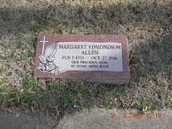 Margaret <i>Edmondson</i> Allen