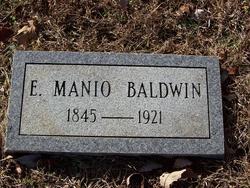 E Manio Baldwin