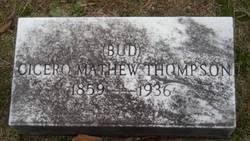 Cicero Matthew Bud Thompson