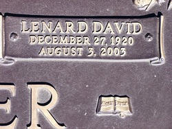 Lenard David Snyder