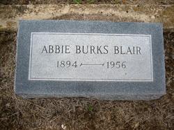 Abie <i>Burks</i> Blair