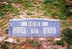 Doris <i>Gibbons</i> Dodd