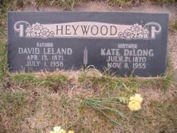 Kate <i>DeLong</i> Heywood