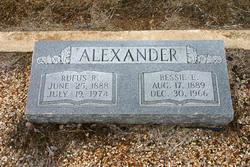 Bessie Eleanor <i>Barrow</i> Alexander