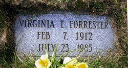 Virginia Elizabeth <i>Trivette</i> Forrester