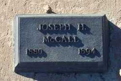 Joseph Hooker McCall