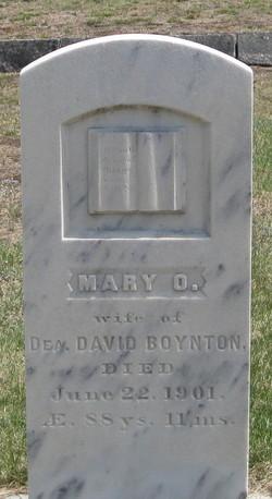Mary <i>Osgood</i> Boynton