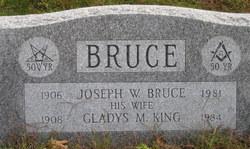 Joseph W Bruce