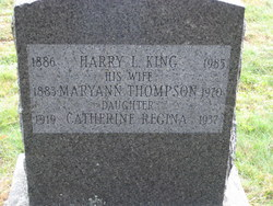 Harry Lucius King