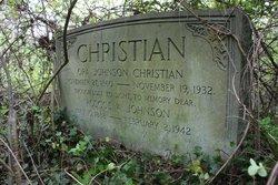 Ora <i>Johnson</i> Christian