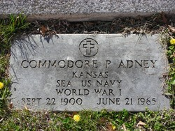 Commodore Perry Adney