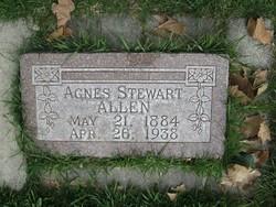 Agnes <i>Stewart</i> Allen