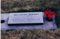 Iris Leone <i>Swanner</i> Rogers