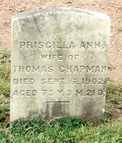 Priscilla Ann <i>Woolever</i> Chapman