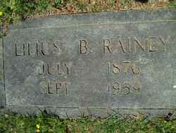 Lilius Bratton Rainey