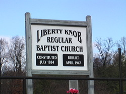 Liberty Knob RBC Cemetery