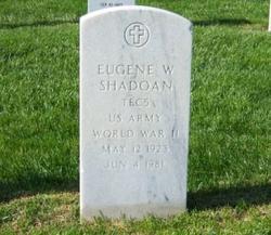 Eugene Wright Shadoan