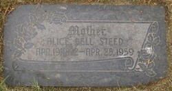 Alice Bell Steed