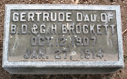 Gertrude G Brockett