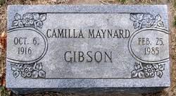 Camilla <i>Maynard</i> Gibson