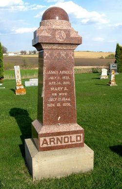 Mary Ann <i>Wheeler</i> Arnold
