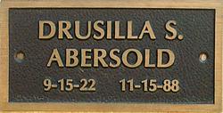 Drusilla S. Abersold