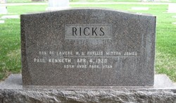 Phyllis Mitton <i>James</i> Ricks