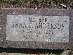 Anna <i>Jacobsen</i> Anderson