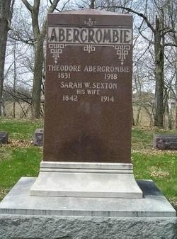 Sarah W <i>Sexton</i> Abercrombie