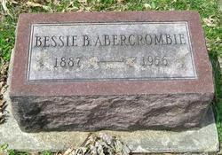 Bessie B Abercrombie