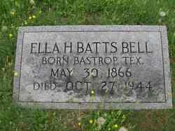 Ella H <i>Batts</i> Bell
