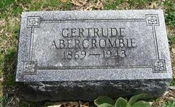 Gertrude <i>Sexton</i> Abercrombie
