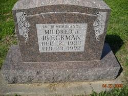 Mildred R <i>Hatcher</i> Bleckman